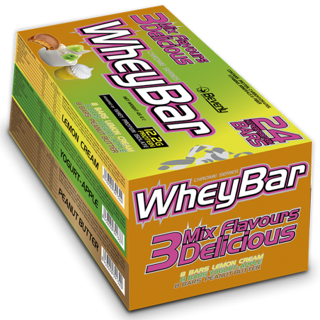 3 Mix Delicious Whey Bar 24 x 45g