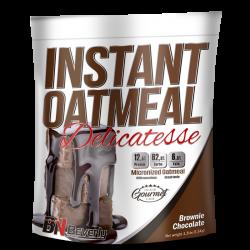 Farinha de aveia instantânea sabor a Brownie chocolate