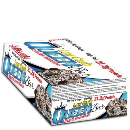 Low Carb Queen Bar 15 x 60g